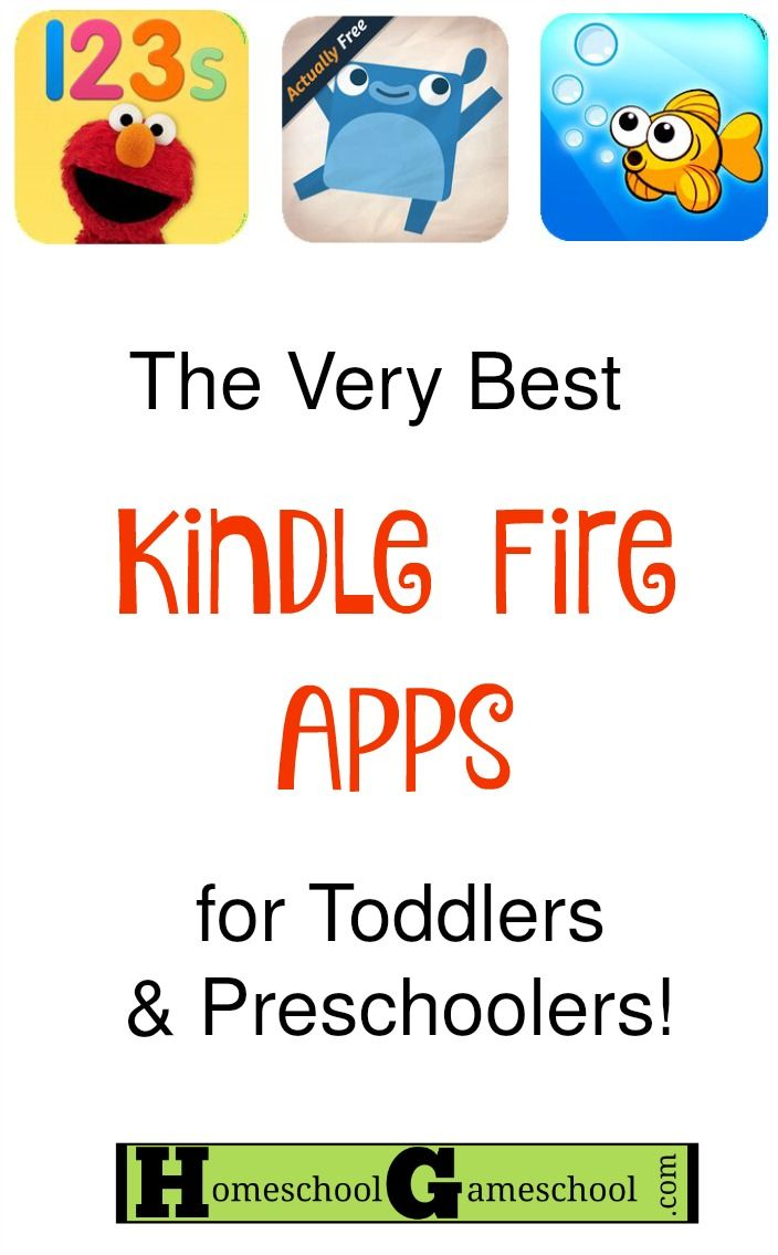 The best Kindle Fire apps for toddlers and preschoolers