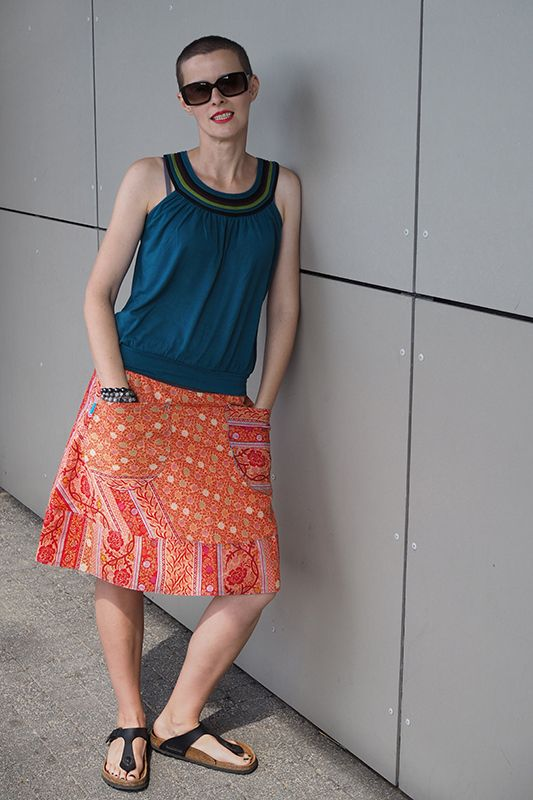 Floral, summer skirt