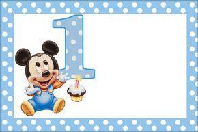 Para aquellas mamás que buscan realizar el festejo del primer cumpleaños de los nenés, les ofrecemos este mágico kit imprimiblede Mickey bebé para descargar gratuitamente. Una vez en la pc, podrán…