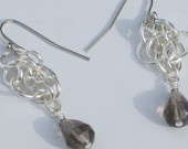 Sweet chain maille earrings