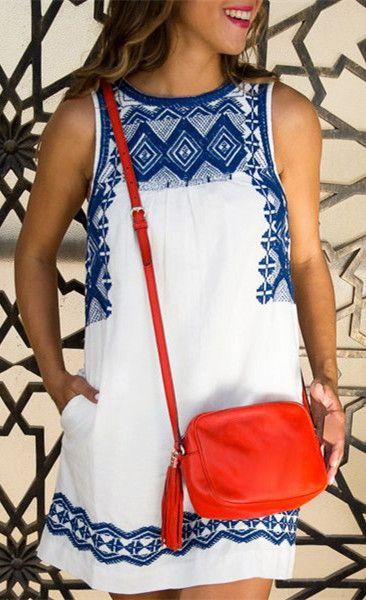 Cute pueblo-like dress