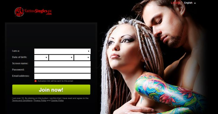 Free dating sites for tattooed singles