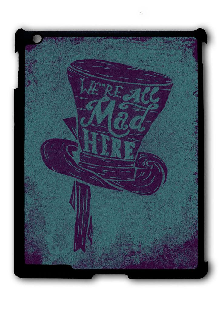 Alice in wonderland iPad case, Available for iPad 2, iPad 3, iPad 4 , iPad mini and iPad Air