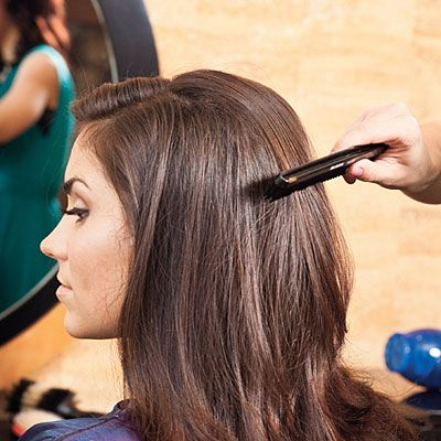 Blowout Tips from Miss Texas...best tricks always come from the pageant circle