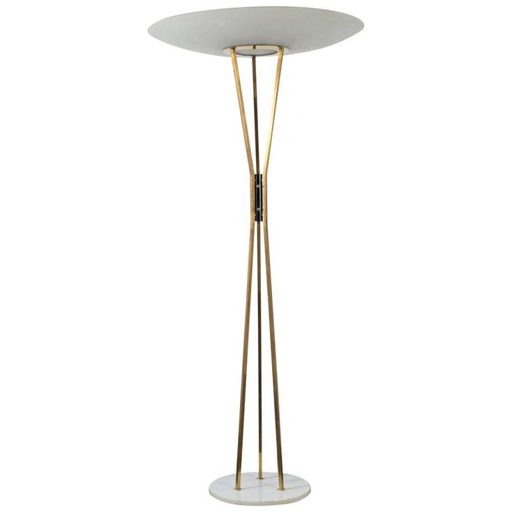 Vintage Midcentury Floor Lamp by Gaetano Sciolari for Stilnovo | From a unique collection of antique and modern floor lamps at https://www.1stdibs.com/furniture/lighting/floor-lamps/