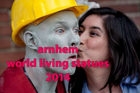 World Statues Festival 2014 - the Statues - professionals - Arnhem - © fotografie, studio Care Graphics, Charley van Doorn