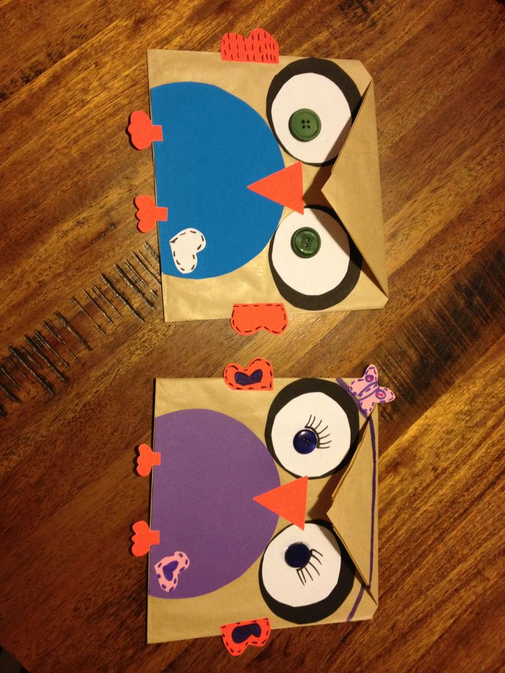 Giggle and hoot lolly bags