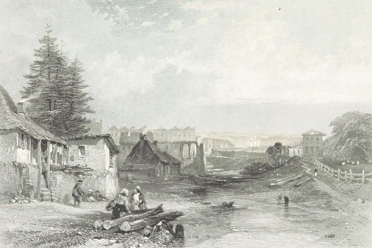 The Old Tank Stream, Sydney, New South Wales 1873