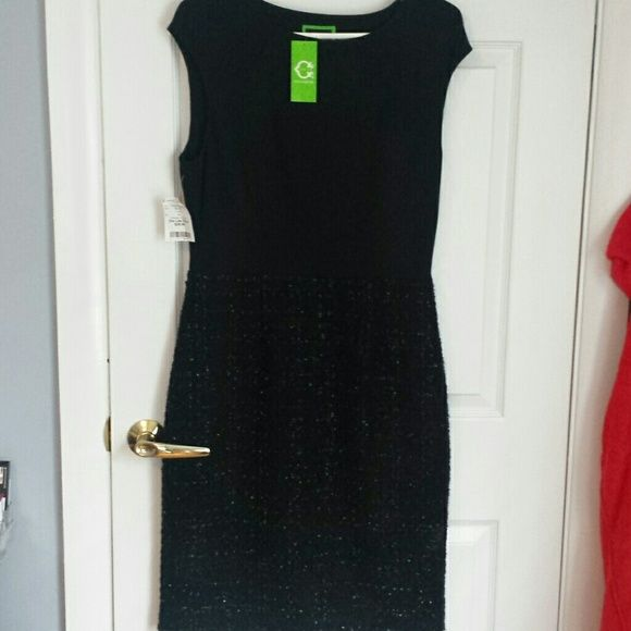 C Wonder black dress NWT Black dress NWT purchase to wear to a holiday party but didn't go. C Wonder Dresses