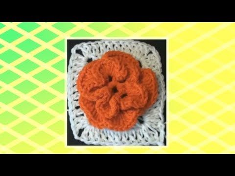 Crochet Geek - Crochet Granny Square Jasmine