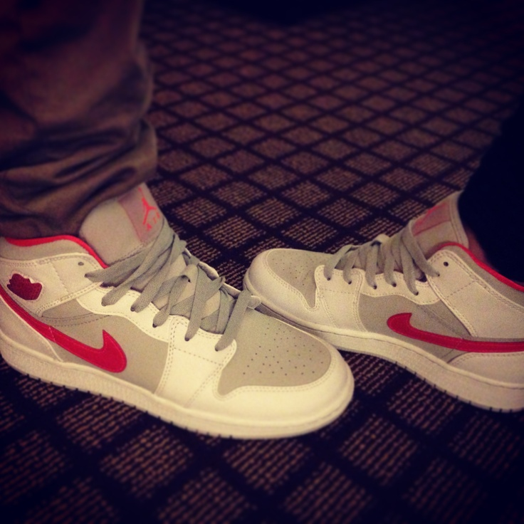 Matching Jordan's :) with my hubby