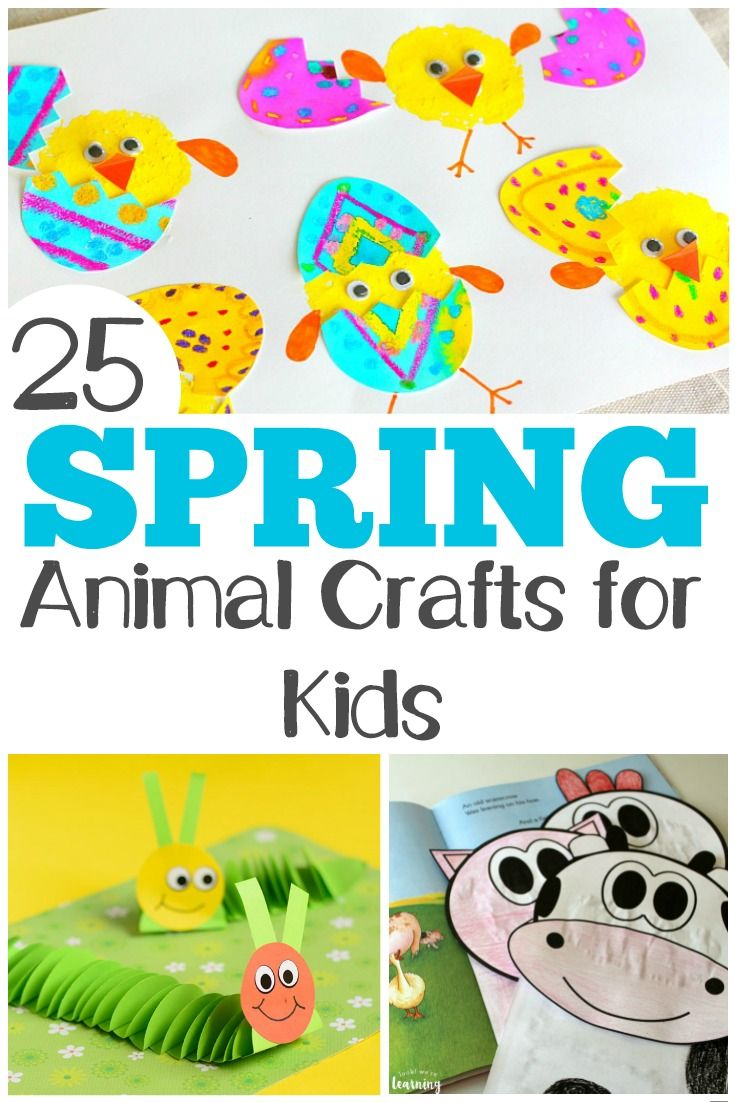 30 Adorable Spring Animal Crafts And Activities Animal Crafts
