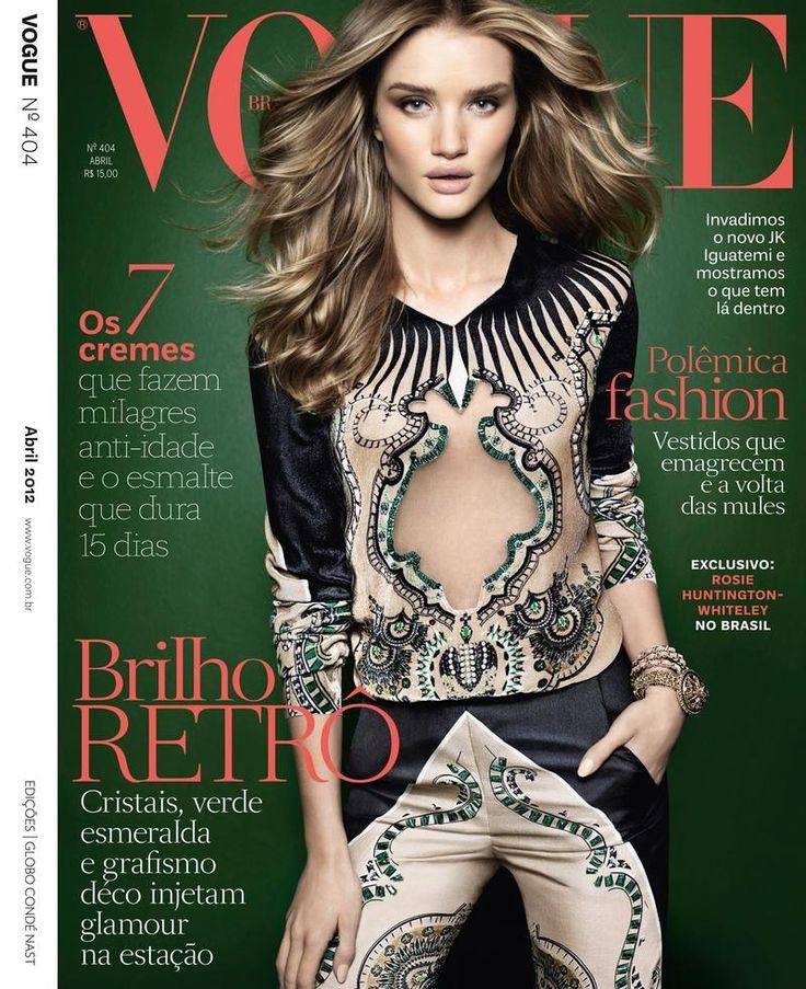 Vogue Brasil - Vogue Brasil April 2012 Cover