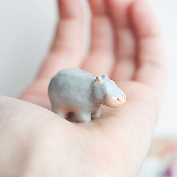 Hippo Totem Animal Totems by leanimale on Etsy