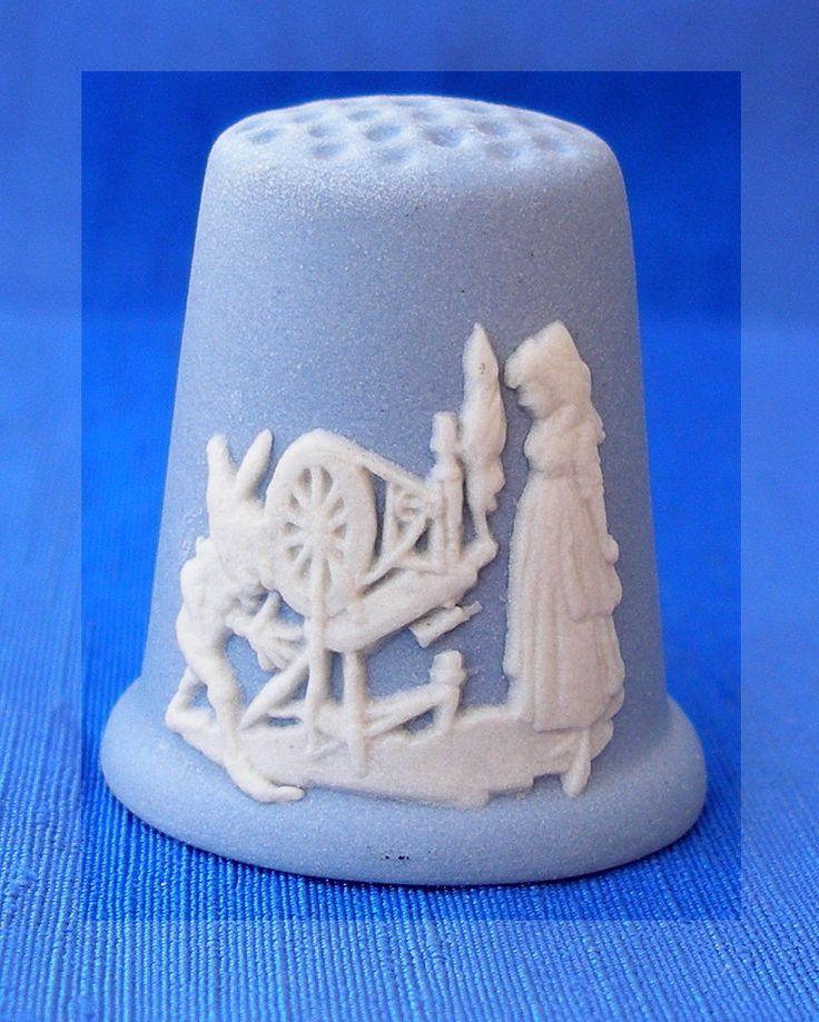RP: Wedgwood Jasper Fairy Tales TCC Thimble Rumpelstiltskin | eBay.com
