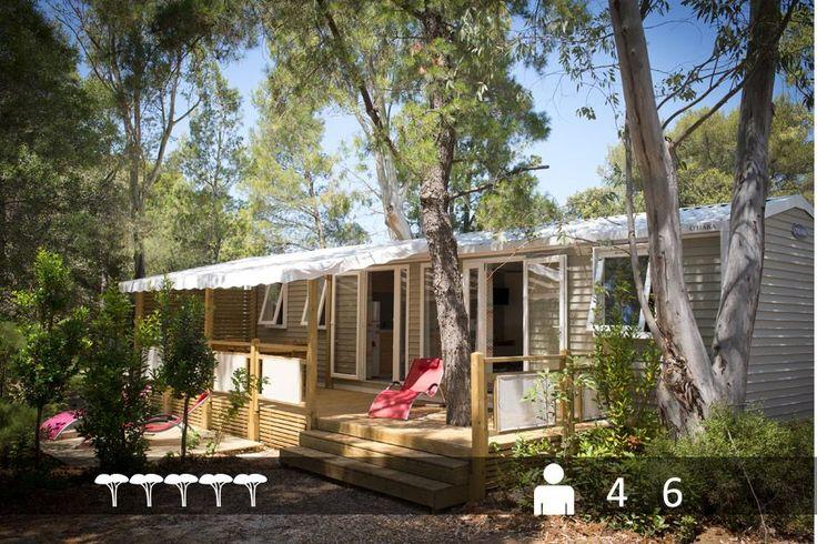 Mobile-home Patio® pour 6 personnes : le luxe à prix camping dans le Var au Camping de La Pascalinette®