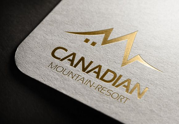 Check out Canadian Mountain Resorts vol-2 by NEXDesign on Creative Market