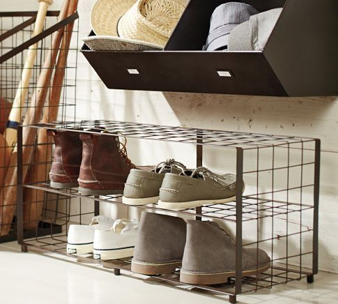 Shoe storage ideas.