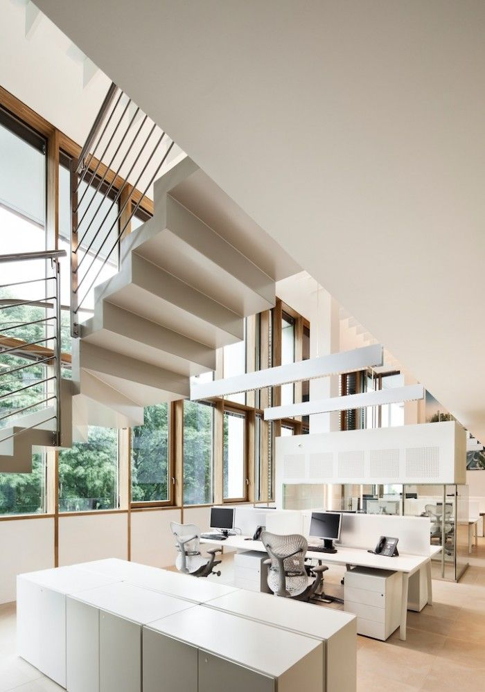 Image of from gallery of autodesk milano offices goring u for Design render milano