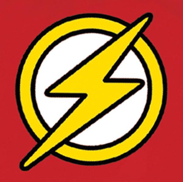 Superhero Symbol | Justice League Unlimited T-Shirt: Flash Symbol (L) - Westfield Comics ...