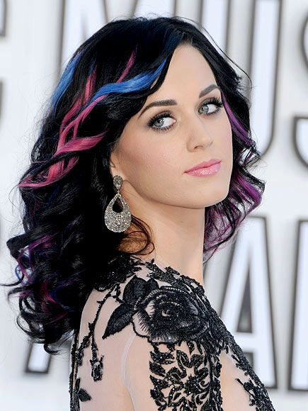 "Katy Perry's ""Firework"" hair. (Before she got all crazy with her hair colors.)"