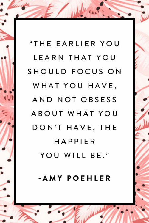 By Amy Poehler