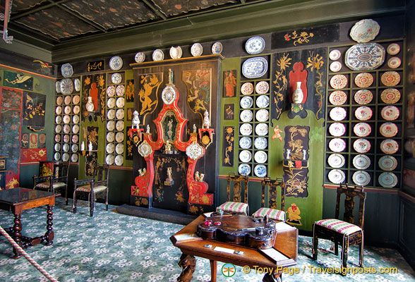 The stunning Chinese Living Room in the Maison de Victor Hugo, Paris