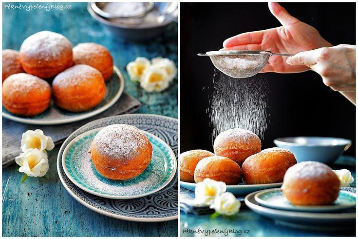 Koblížky prababičky Anežky (Donuts)  www.peknevypecenyblog.cz