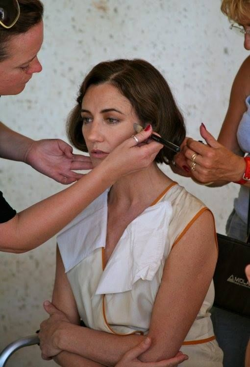 Behind The Scenes - Orla Brady as Eileen Gray