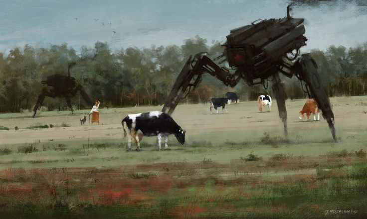 ArtStation - 1920 - you shall not pass, Jakub Rozalski