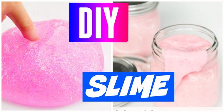 DIY Slime! | No Borax, Liquid Starch, Detergent, or Eye Drops - YouTube