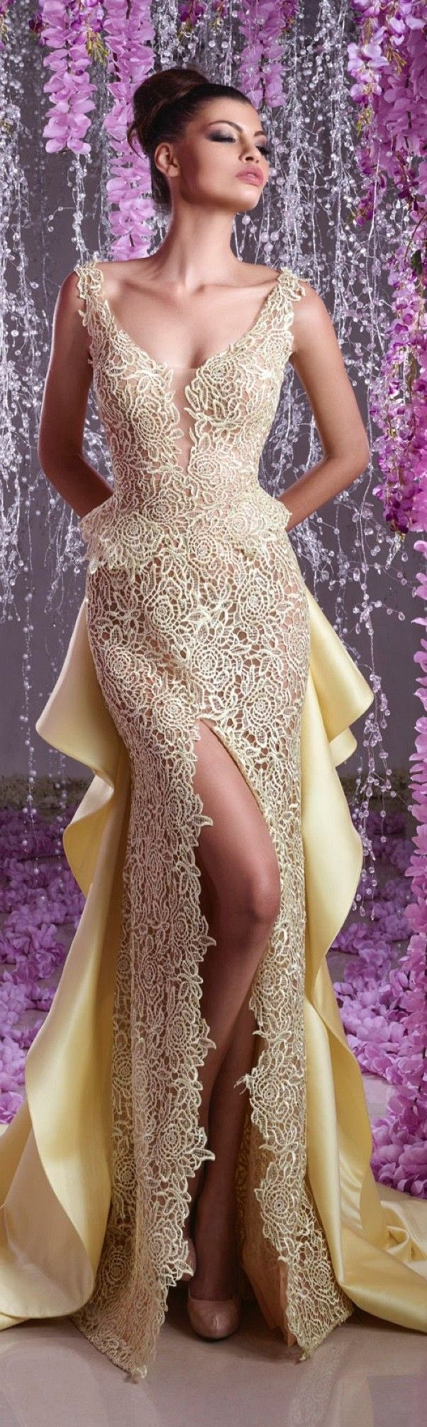 Hanna Toumajean couture 2016 spring summer