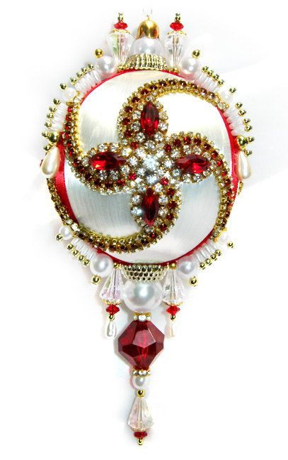 Dazzling Christmas Ornament by sparklements on Etsy SOLD