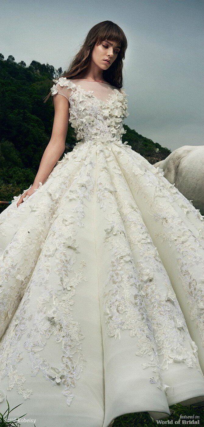 09623eb39c24a Saiid Kobeisy 2018 Wedding Dresses | Wedding Dresses | Wedding ...
