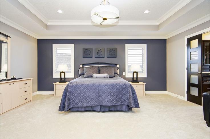 Master suite, custom home