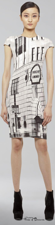 ~Bergdorf Goodman 111th anniversary 5th Avenue Akris silk dress | House of Beccaria