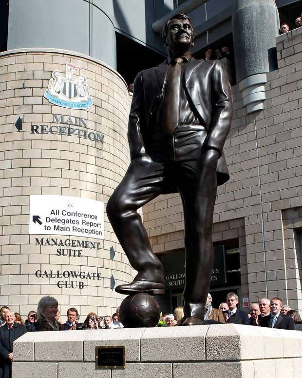 Sir Bobby Robson @ St James' Park