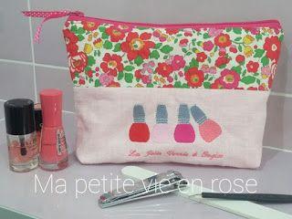 Ma Petite Vie en Rose: Trousse Manucure et vernis!
