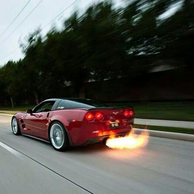 Merveilleux Vette On Fire. Sexy CarsHot CarsCorvetteDream CarsConvertibleSupercarsChevyTrucksSuper  Car