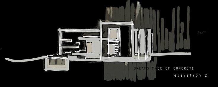 Dreams of Concrete sketches process