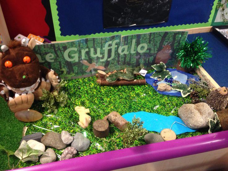 Gruffalo small world tray #juliadonaldson #moderntales #earlyyears