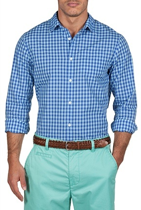 Country Road 2 Colour Gingham Shirt - $99