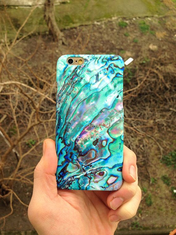 iPhone 6 case ABALONE SHELL PURPLE iPhone 6 plus 5 by InfigoCase