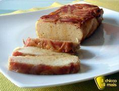 Polpettone di pollo in crosta di pancetta ricetta secondo il chicco di mais