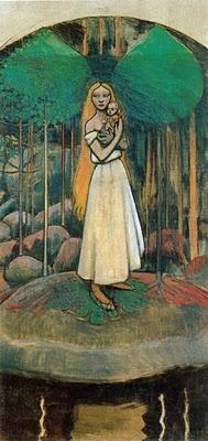 Akseli Gallén-Kallela, Marjatta and the Christchild, 1895-96