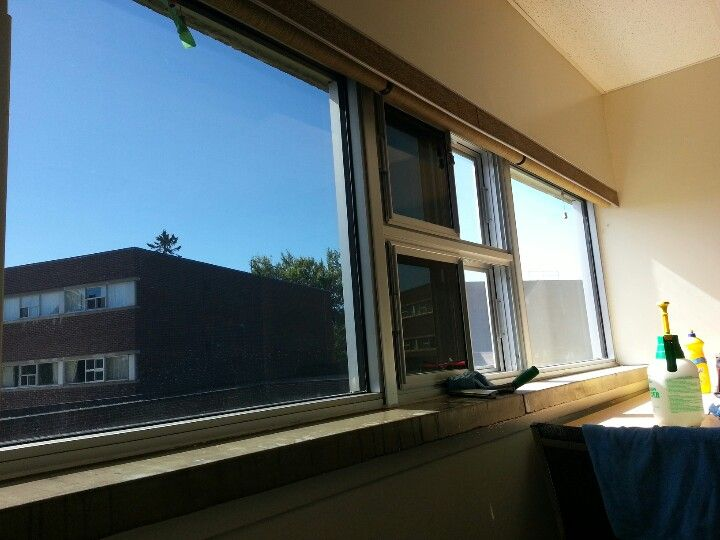 3M Night Vision window film.  Reduces glare, excess heat and blocks 99.9% of damaging UV rays!  Great for your home or office windows.