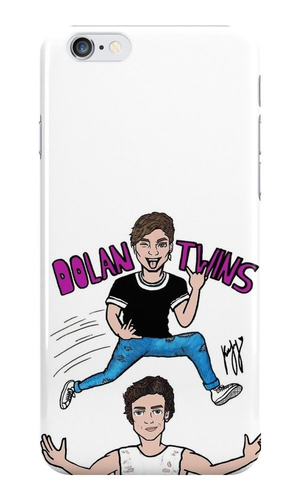 Our Dolan Twins Cartoon Drawing Phone Case is available online now for just £5.99.    Fan of Dolan Twins? You'll love our Dolan Twins Cartoon Drawing phone case, available for iPhone, iPod & Samsung models.    Material: Plastic, Production Method: Printed, Authenticity: Unofficial, Weight: 28g, Thickness: 12mm, Colour Sides: White, Compatible With: iPhone 4/4s   iPhone 5/5s/SE   iPhone 5c   iPhone 6/6s   iPhone 7   iPod 4th/5th Generation   Galaxy S4   Galaxy S5   Galaxy S6   Galaxy S6 Edge