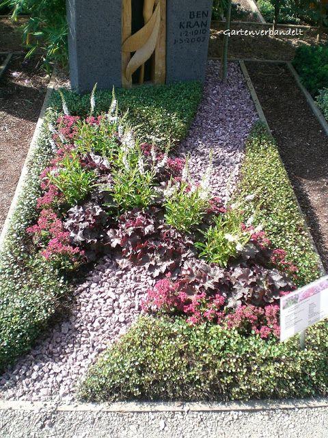 Gartenverbandelt: Grabbepflanzung für den Sommer