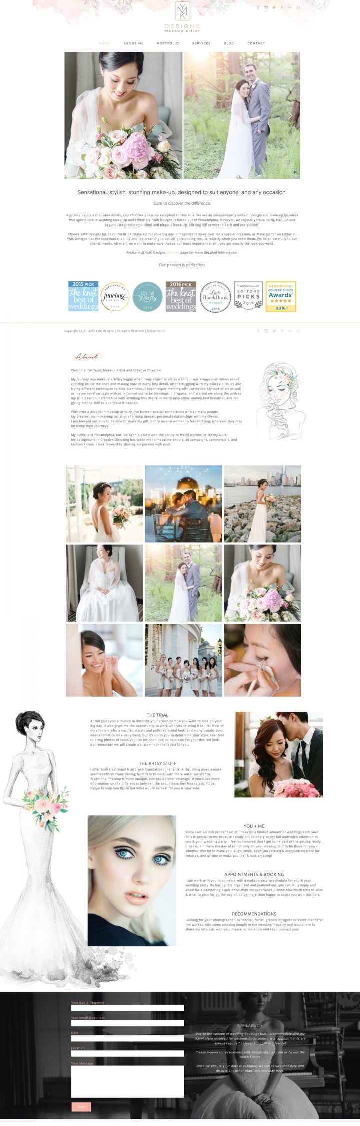 makeup artist, website design, wedding website, design, elegant, website