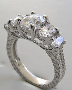 Platinum  Stone Engagement Ring Settings